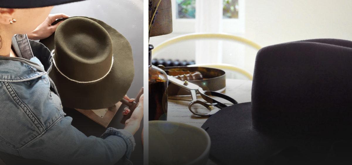 Atelier fabrication chapeau Atelier Donoma