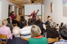 Atelierkonzert im Atelier Frank Fischer am 3. März 2017, Foto Frank Fischer