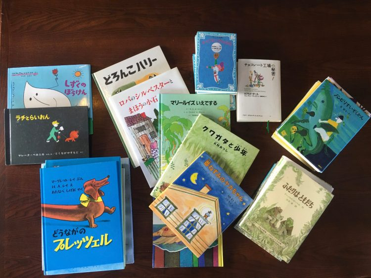 アトリエ本箱さんの児童書を貸出します
