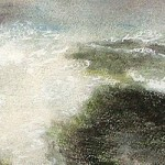Meeresbrandung - Aquarell