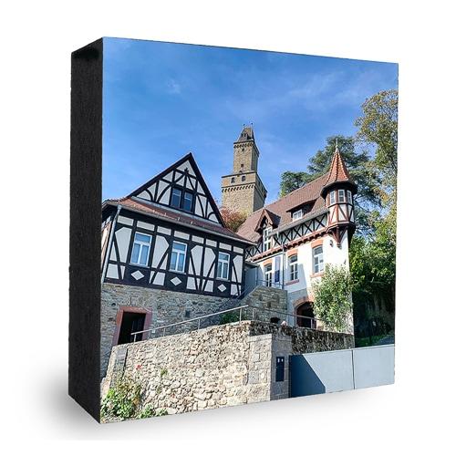 Kronberger Burg und Fachwerk
