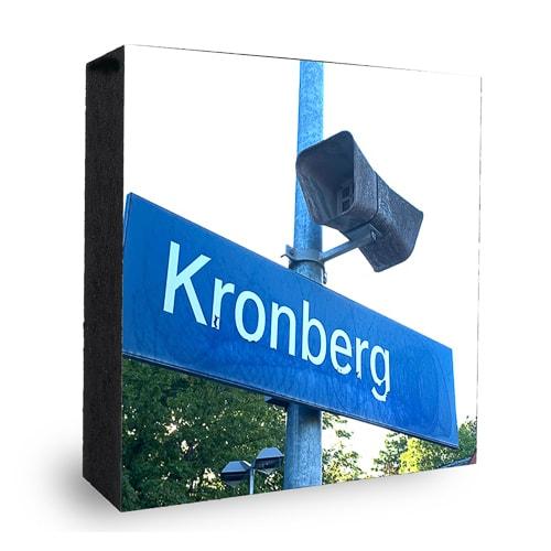 Kronberg Schild Bahnhof