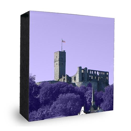 Burg Königstein lila