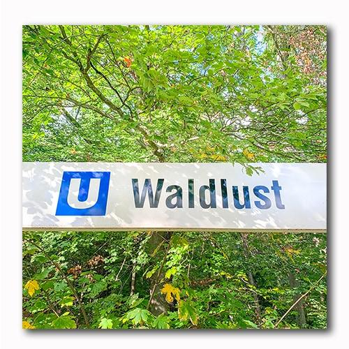 U-Bahn Station Waldlust Oberursel