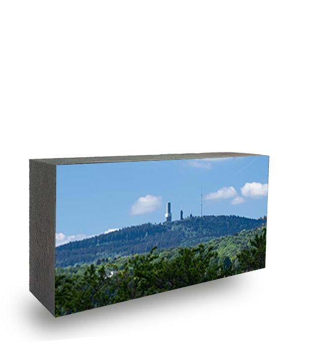 Feldberg Mini- Bild auf Holz
