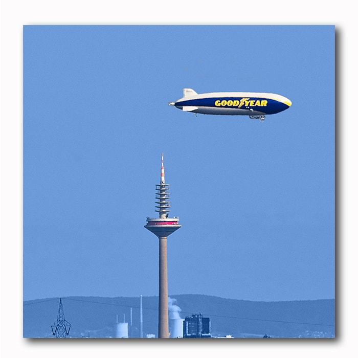 Good Year Zeppelin Bild Frankfurt