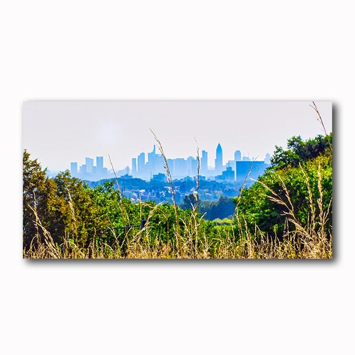 Skyline Frankfurt Morgennebel