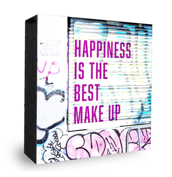 Happiness is the best make up