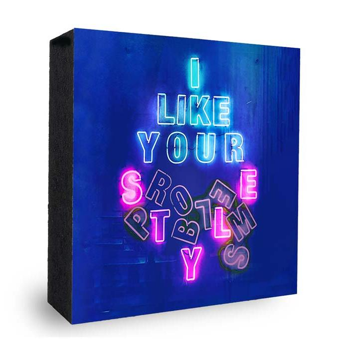 I like your - Style Problems - Neon Blau-Pink