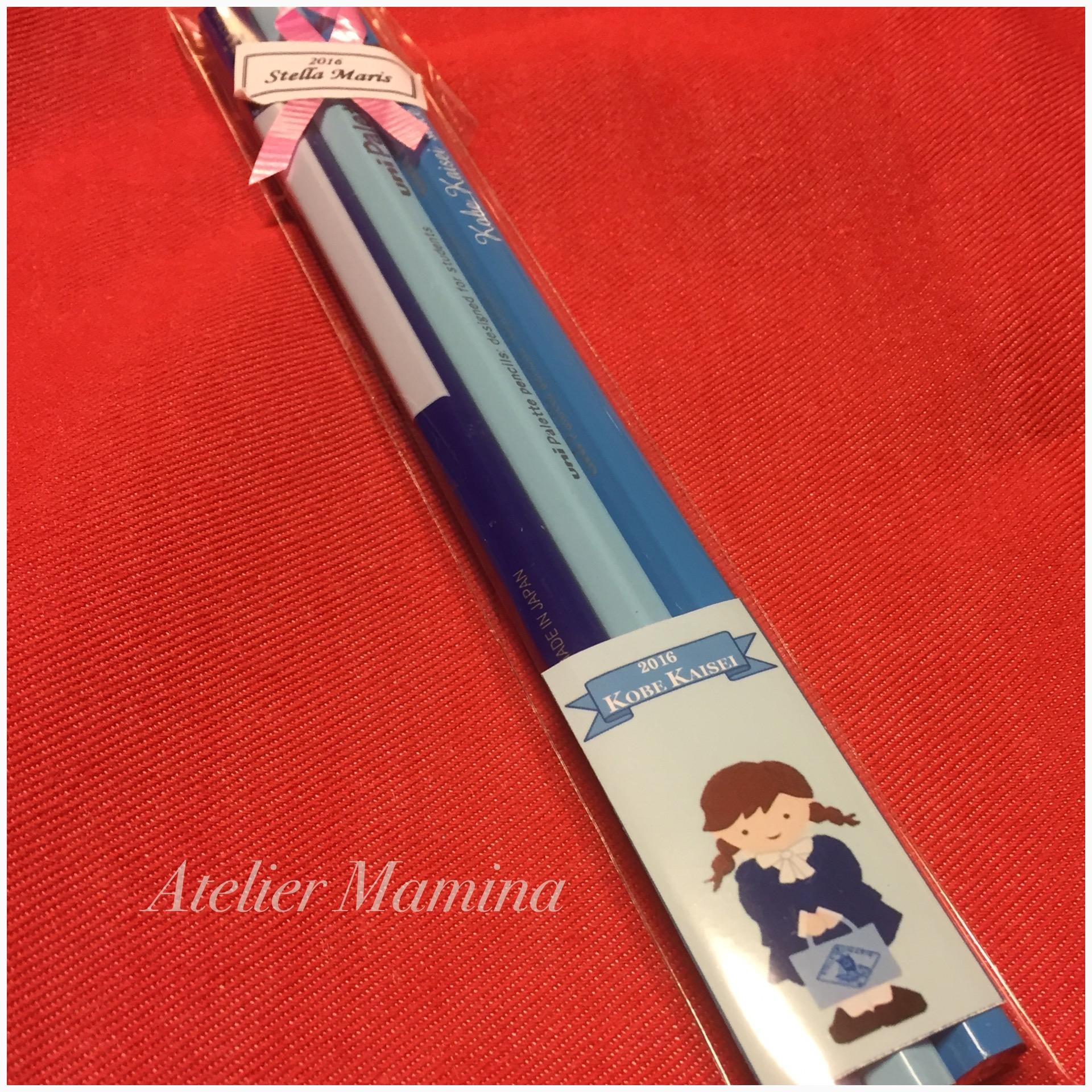 鉛筆を可愛く。バザー応援します。