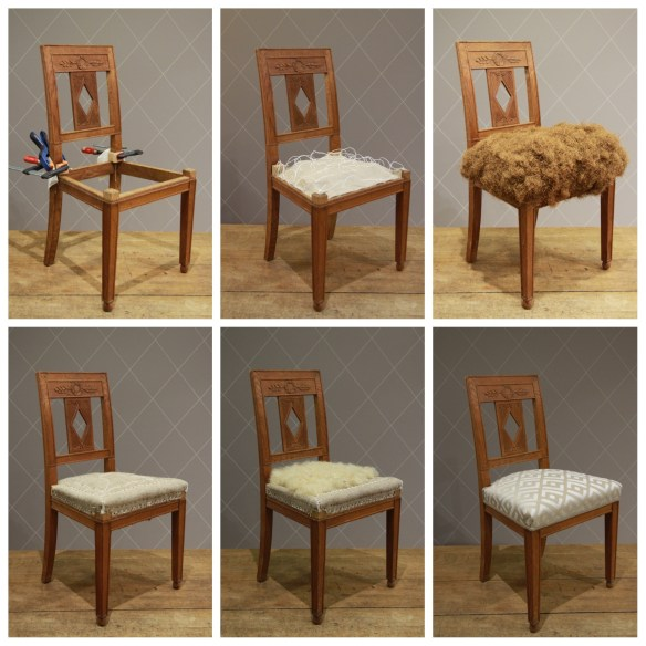 Suite de 6 chaises Art Deco