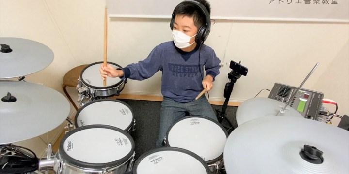 """ドラム生徒さんのYOUTUBE第二弾!髭男""""Amazing""""ドラムカバーに挑戦!"""