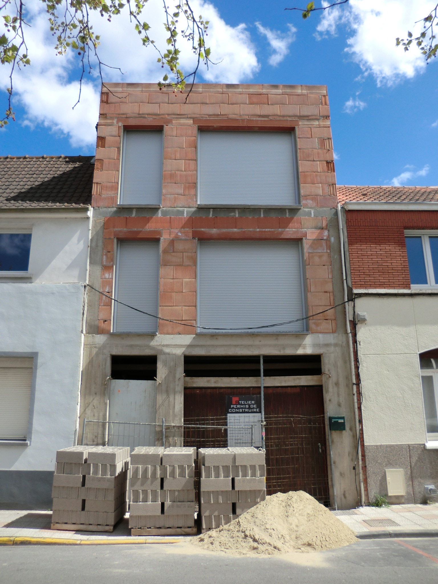 Transformation d 39 un garage en habitation dunkerque - Construction garage sans permis de construire ...