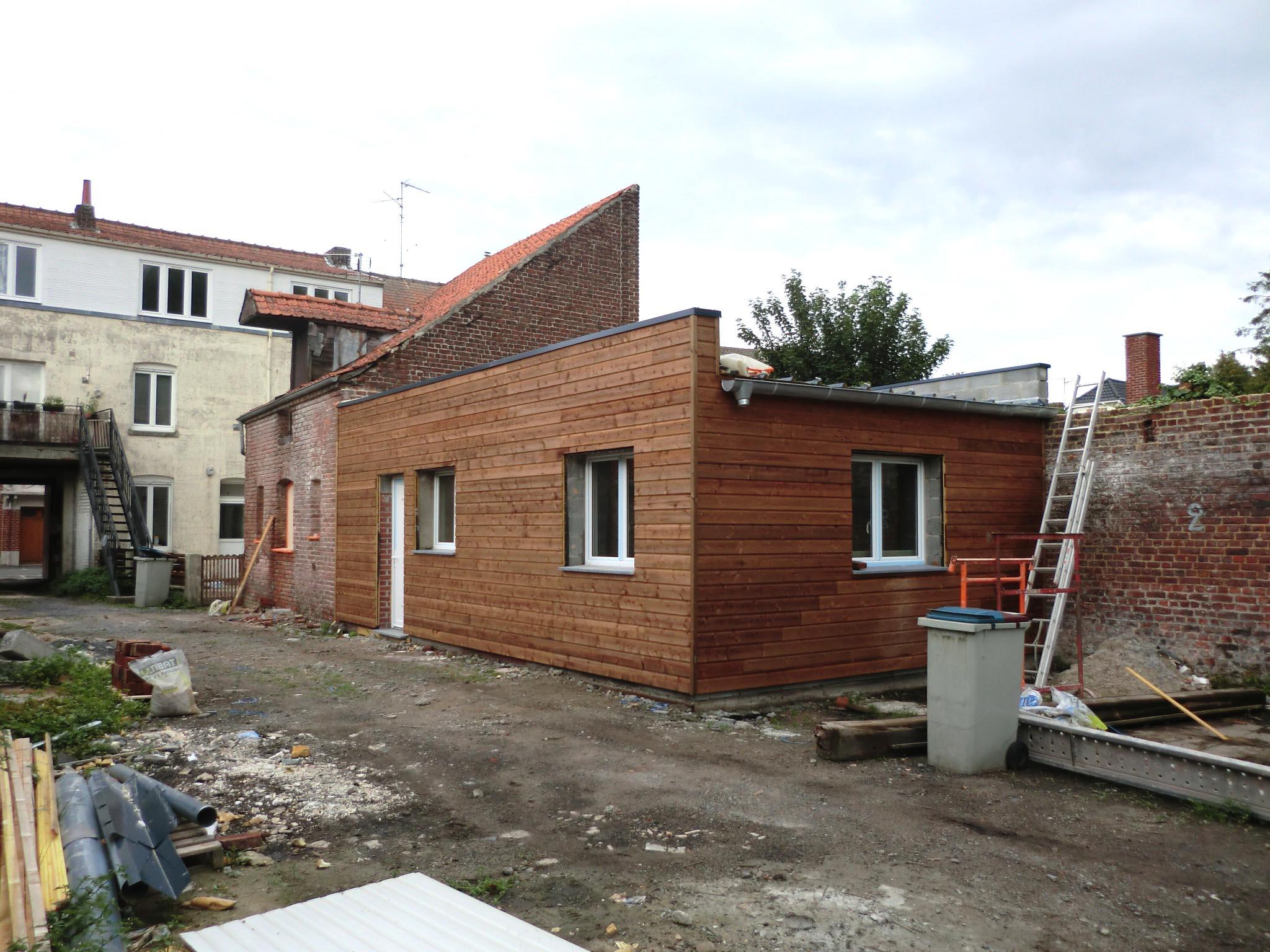Transformation d 39 une curie en habitation orchies - Transformation grange en habitation permis de construire ...