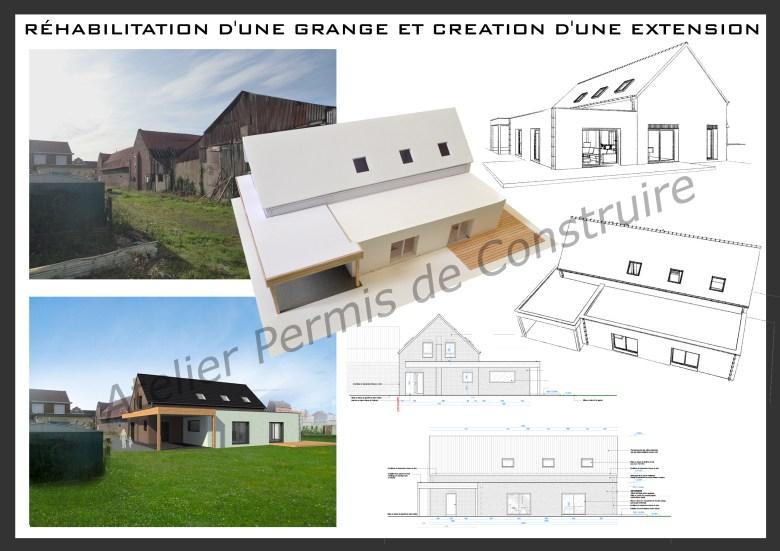 12.23. Atelier permis de construire - Grange Neuf-Berquin