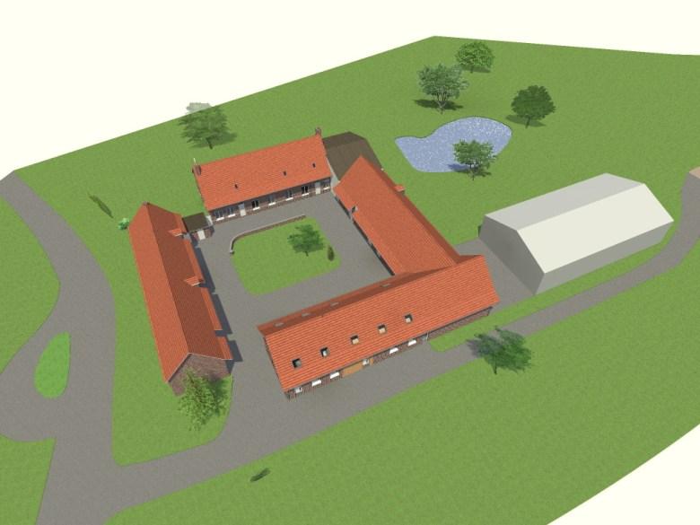 13.06. Atelier permis de construire - Transformation d'un grange en habitation à Steenwerck4