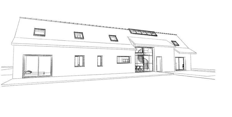 13.20. Atelier permis de construire - Rénovation d'une grange à Bachy3