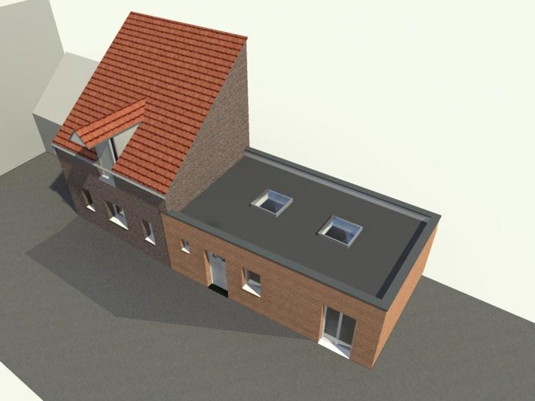 14.12 Permis de construire extension grange Orchies4