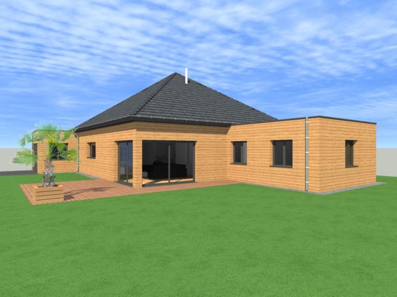 17.5 Atelier permis de construire Maison Plein Pied Sainghin en Weppes