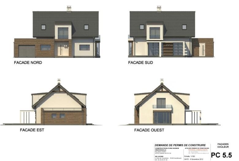 exemple de permis de construire. Black Bedroom Furniture Sets. Home Design Ideas