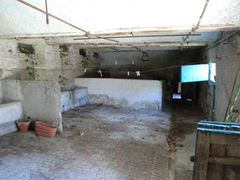 15.12 rénovation d'une grange Nord Permis de construire Fline-lez-raches17.1