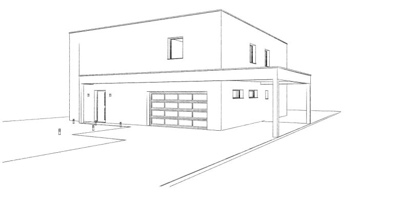 15.17 Permis de construire maison nord Thun Saint Amand5