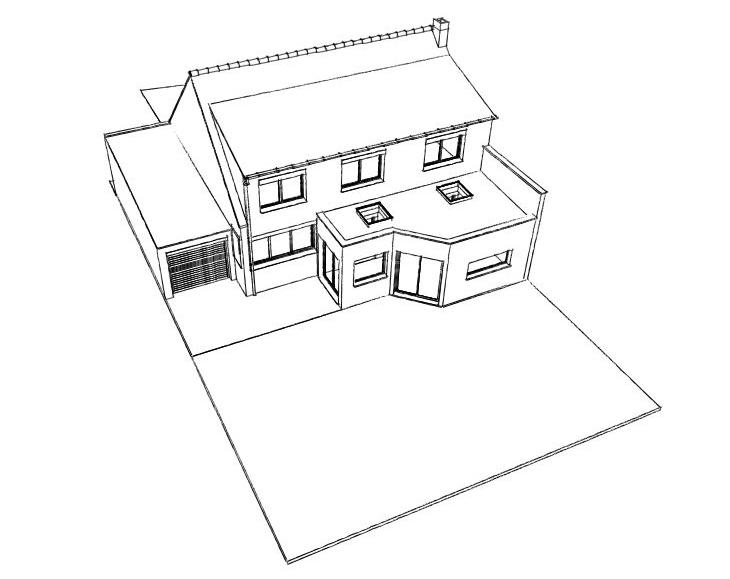 15.22 Atelier Permis de construire extension nord Herlies1