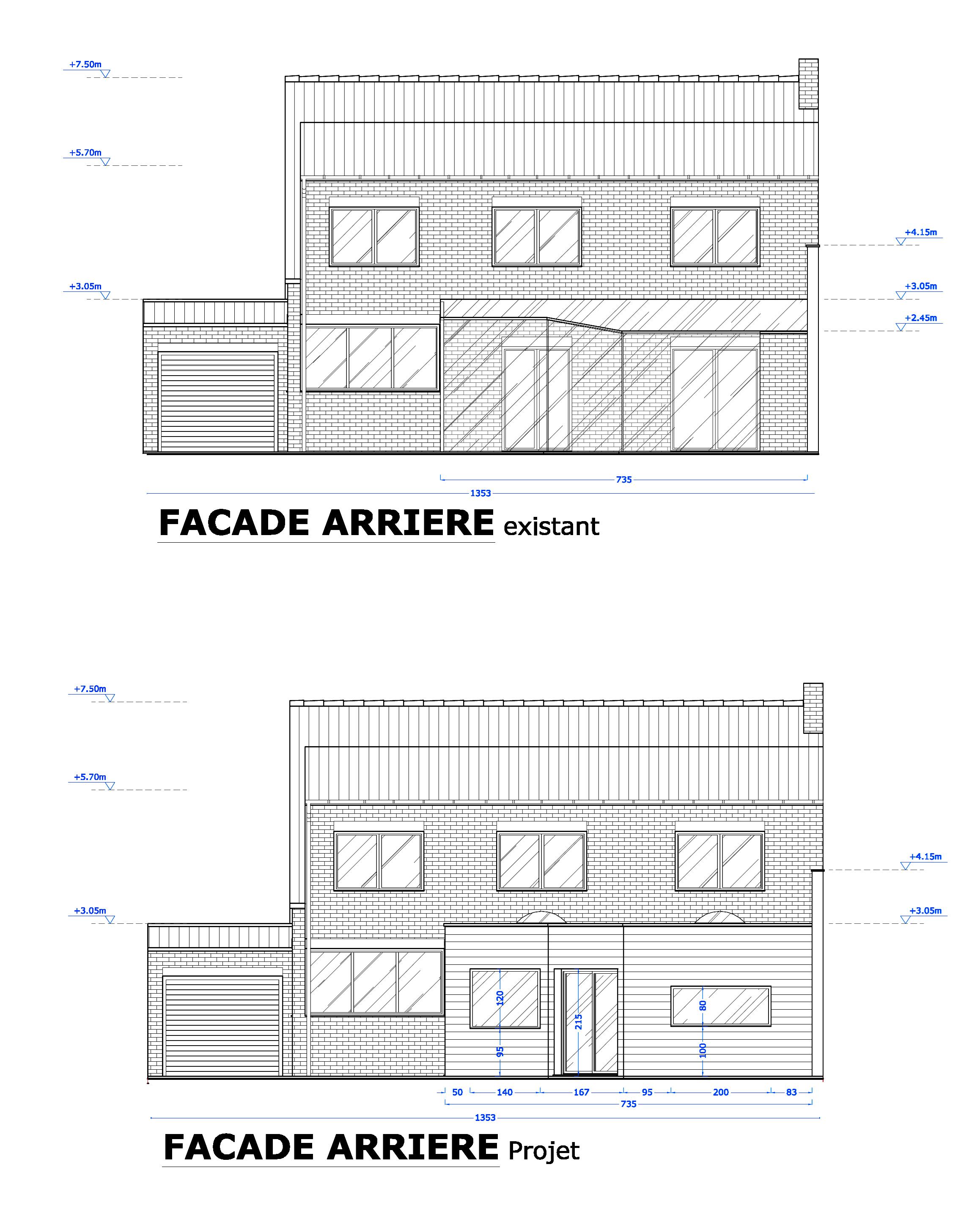 Extension d 39 une maison herlies - Permis de construire extension ...