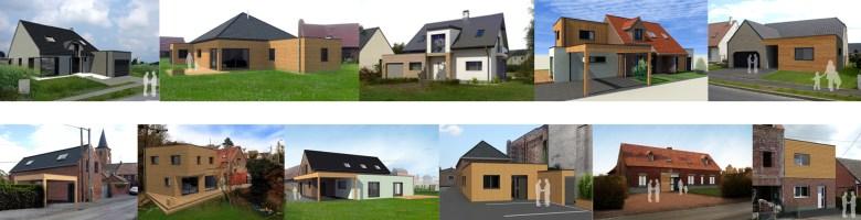maison ossature bois nord atelier permis de construire