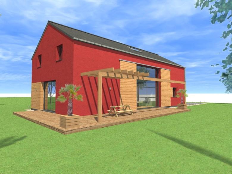 15.08 Atelier Permis de construire construction maison Loft La Gorgue12