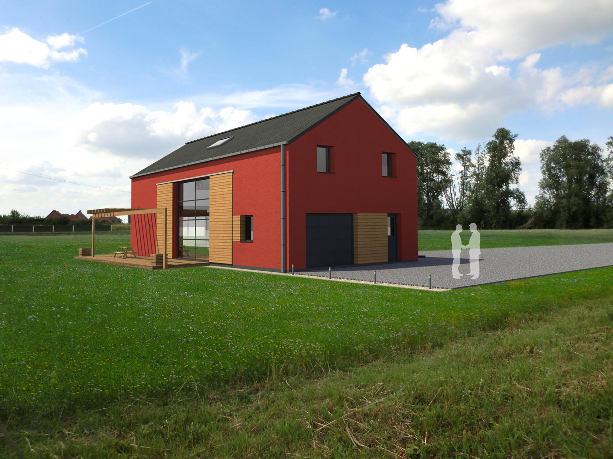 Logiciel maison gratuit simple plan de maison moderne - Logiciel pour construire sa maison ...
