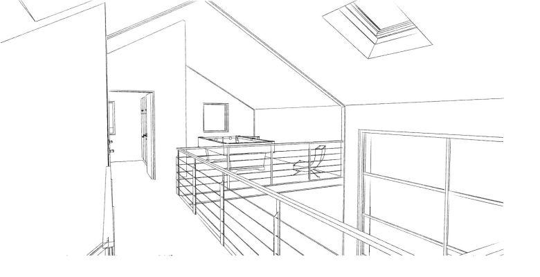 15.08 Atelier Permis de construire construction maison Loft La Gorgue25