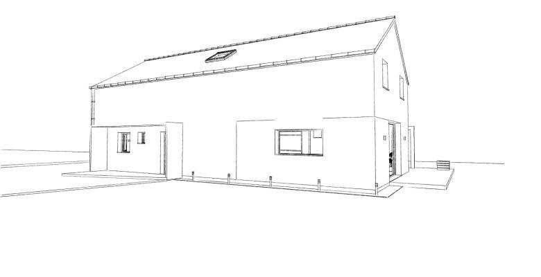 15.08 Atelier Permis de construire construction maison Loft La Gorgue9