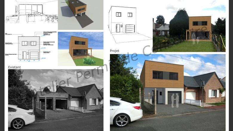 Demande de permis de construire for Demande permis de construire garage