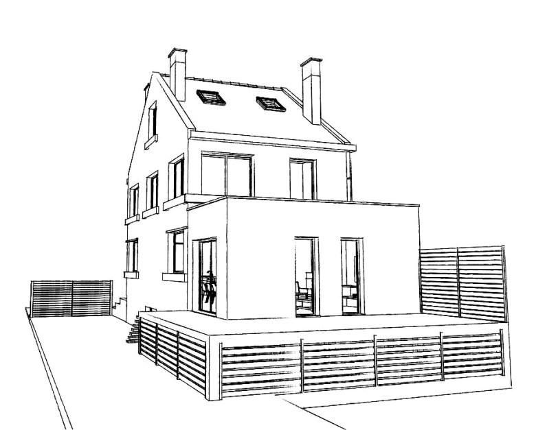 15.29 Atelier Permis de construire extension nord Marcq en Baroeul10