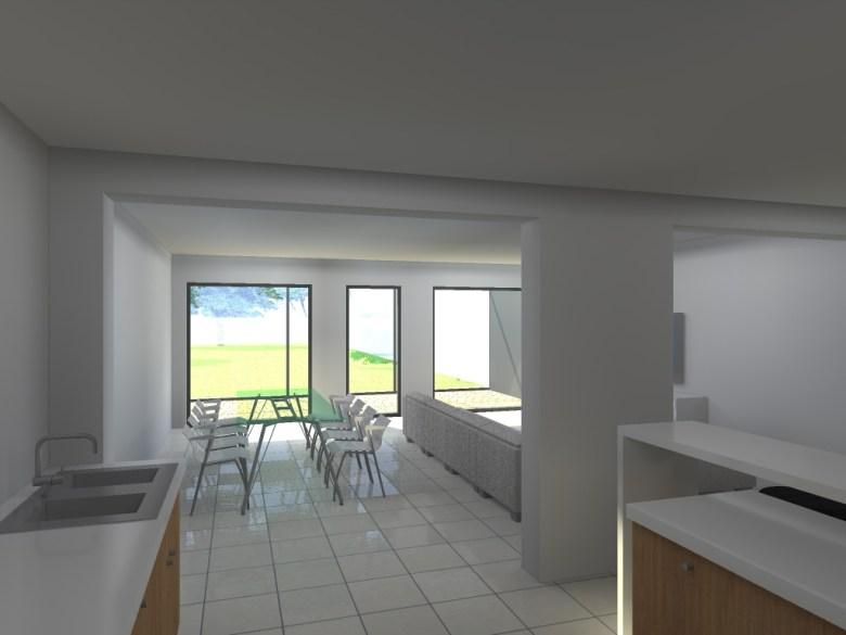15.26 Extension maison permis de construire nord Valenciennes20