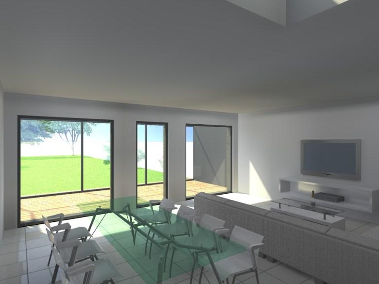 15.26 Extension maison permis de construire nord Valenciennes21