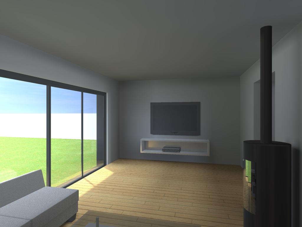 Extension d 39 une maison individuelle mouchin nord - Permis de construire extension ...