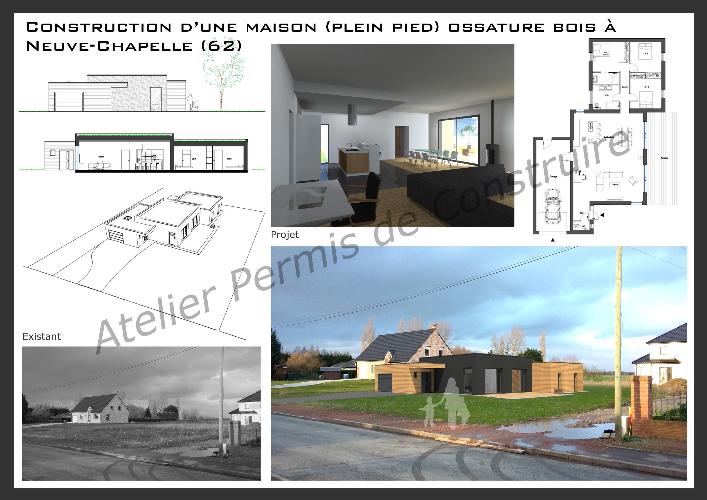 Cheap atelier permis de construire maison neuve chapelle for Calculer le prix de sa maison