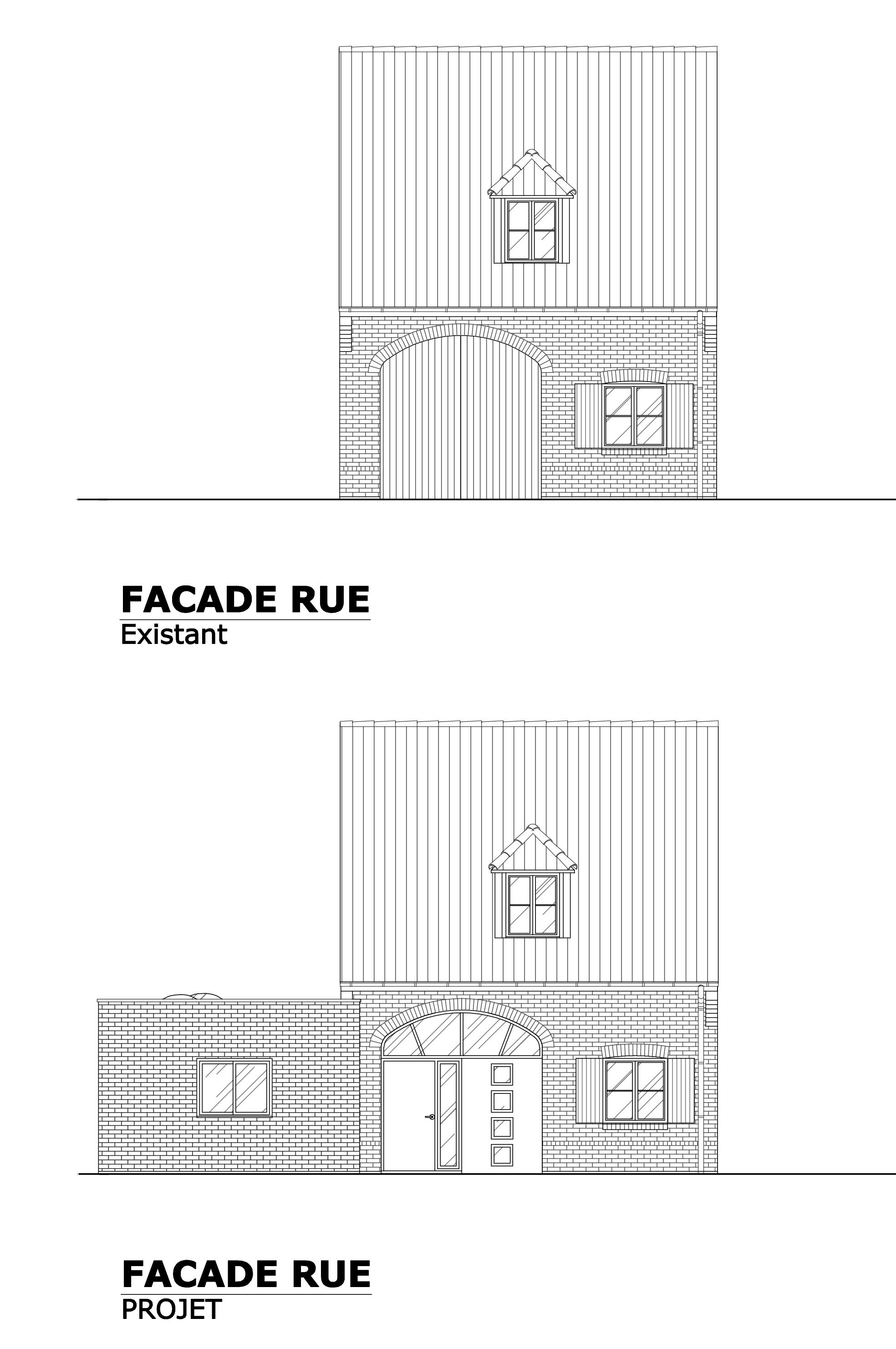 transformation d 39 un garage en habitation avec cr ation d 39 une extension verlinghem. Black Bedroom Furniture Sets. Home Design Ideas