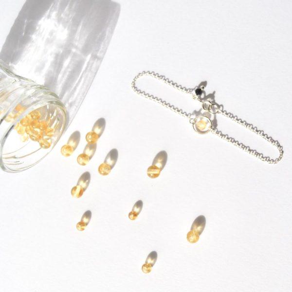 bijoux-pierre-argent-vrai-bracelets-funambule-lithotérapie-Citrine-3