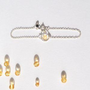 bijoux-pierre-argent-vrai-bracelets-funambule-lithotérapie-Citrine-1