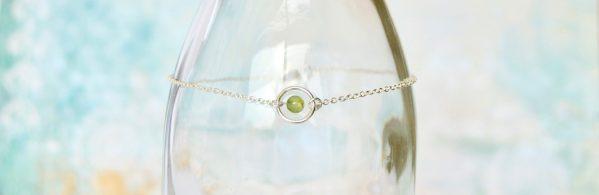 bijoux-pierre-argent-vrai-bracelets-funambule-lithotérapie-Péridot-2