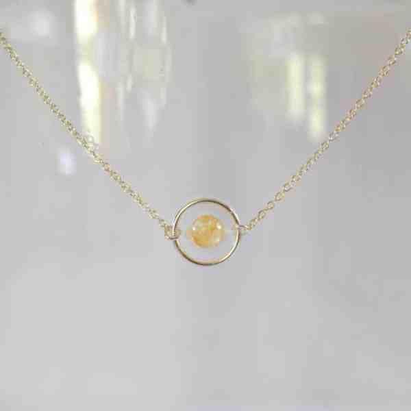 bijoux-pierre-argent-vrai-collier-funambule-lithotérapie-Citrine-2
