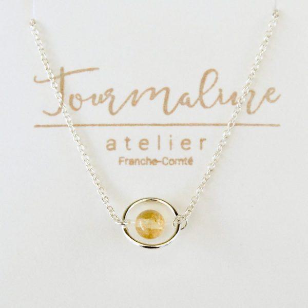 bijoux-pierre-argent-vrai-collier-funambule-lithotérapie-Citrine-3