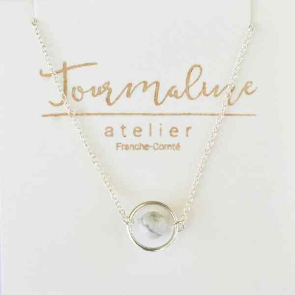 bijoux-pierre-argent-vrai-collier-funambule-lithotérapie-Howlite-5