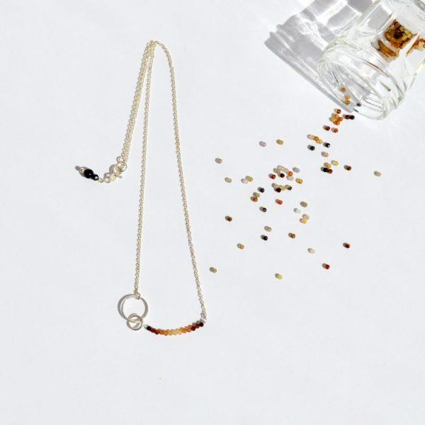 bijoux-pierre-argent-vrai-sautoir-lithothérapie-tourmaline-marron-5