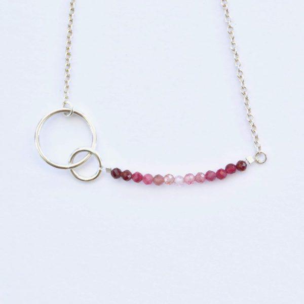 bijoux-pierre-argent-vrai-collier-funambule-lithotérapie-tourmaline-rose-2