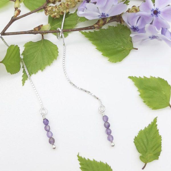 bloucle-orielle-pierres-bijoux-argent-cadeau-fete-mere-femme-etincelle-un-brins-Améthyste-1