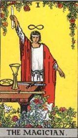 ウェイト版タロットカード魔術師